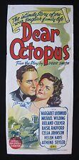 DEAR OCTOPUS 1946 Australian daybill movie poster Margaret Lockwood British film