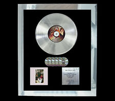 LED ZEPPELIN PRESENCE  MULTI (GOLD) CD PLATINUM DISC FREE POSTAGE!!