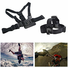 Gopro Chest + Head Harness Mount Plus Strap for Go Pro HD Hero 2 3 3+ 4 Camera