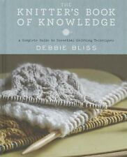 KNITTER'S BOOK OF KNOWLEDGE - DEBBIE BLISS (HARDCOVER) NEW