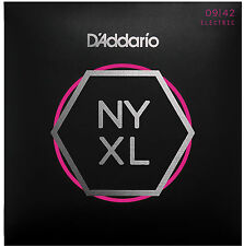 D'Addario NYXL 0942 cordes pour guitare électrique-super light set 9-42