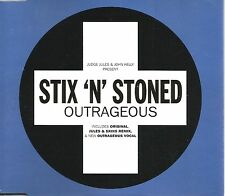 Judge Jules John Kelly STIX N STONED Outrageous 5TRX MIXES & 12 INCH CD Single