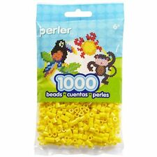 1000 Perler Yellow Color Iron On Fuse Beads