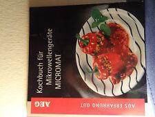 Kochbuch für Mikrowellengeräte - Micromat AEG - Aus Erfahrung gut