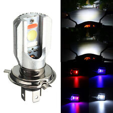 H4 12W COB LED 6500K Hi/Lo Beam Motorcycle Car Bike Fog Spot Headlight Bulb Lamp