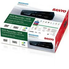 SANYO INSTANTLY CONVERT VHS TAPES to DVDs VCR PLAYER RECORDER COMBO 1080p HDMI