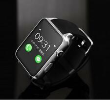 GT88 Waterproof Bluetooth Smart Watch Wrist Phone Mate for Apple Android silver