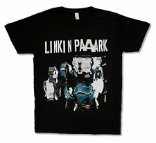 LINKIN PARK DISTORTED PRISMATIC BLACK T-SHIRT NEW OFFICIAL BAND ADULT SMALL S