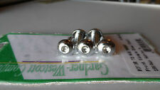 Chrome Button Head Brake disc bolts for Harley-Davidson Front wheel