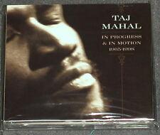 TAJ MAHAL In Progress & Motion 1965-1998 Sony 3-CD US-Import MINT
