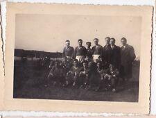 GIOCATORI DI CALCIO PALLONE U.S. MONTENERO ( DI BISACCIA ) MOLISE 1952  2-145