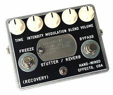 RECOVERY EFFECTS CUTTING ROOM FLOOR EFFECT PEDAL GLITCH PITCH MODULATION ECHO!