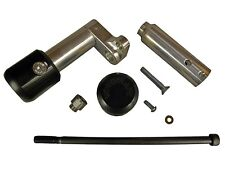 KAWASAKI 2008-2012 NINJA 250R WOODCRAFT RACING FRAME SLIDER KIT WITH BLACK PUCKS