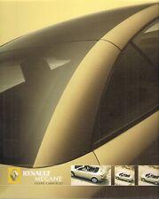 Renault Megane Coupe Cabriolet 2004-06 UK Market Sales Brochure