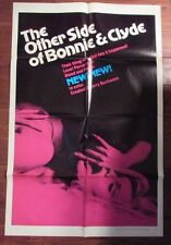 "1968 The Other Side of Bonnie and Clyde 1-Sh Movie Poster 27x41"" FN-"