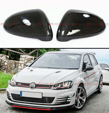 1:1 Replacement Carbon Fiber Side Mirror Cover For 2014-15 Golf 7 Mk7 GTI R VII
