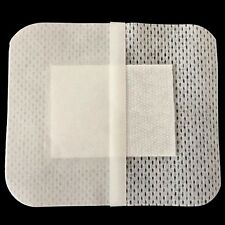 10PCs 6cmX7cm Non-woven Medical Adhesive Wound Dressing Large Band aid Bandage