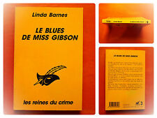Le blues de Miss Gibson -Linda Barnes -Le Masque N° 2126