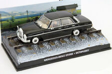 MERCEDES-BENZ 250se James Bond Movie Car Octopussy NERO 1:43 IXO
