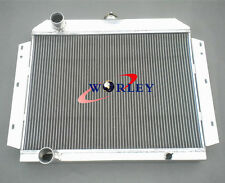NEW FOR International Scout V8 ALUMINUM RADIATOR 3 ROW FIT 1966-1969 66 67 68 69