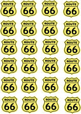 ROUTE 66 Multi Pack of Vinyl Stickers - America / Will Rogers Highway Themed