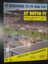 Officieel Programma Dutch TT-Speedweek Assen 1991