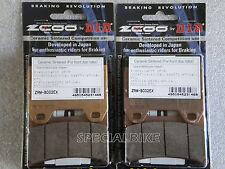 DUCATI 996 BIPOSTO / S / SPS 1999   2001 PASTIGLIE FRENO ZCOO RACING BRAKE PADS