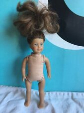 "American Girl Mini Doll 6"" Nude Brown Hair with Freckles Saige"