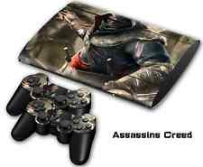 COOL Super Skin Sticker Cover Decal For PS3 PlayStation Slim 4000 +2 Controllers