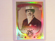 2014 Panini Hall of Fame 75th Anniversary Card  Alexander Cartwright Jr. 14/50
