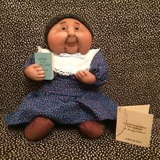 Handcrafted Soft Sculpture Emily Wilson Teacher Doll 1981 - New With Tag