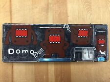 New Japanese Domo Kun Magnetic Pen & Pencil Case Box Pouch-Black