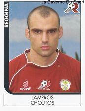 LAMPROS CHOUTOS GREECE REGGINA CALCIO RARE UPDATE STICKER CALCIATORI 2006 PANINI