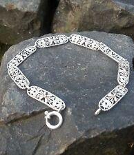 Armband filigran antik Jugendstil Silber 800