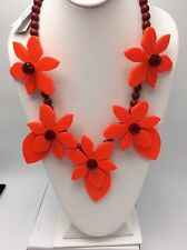 $284 Kate Spade Lovely Lilies Statement Necklace