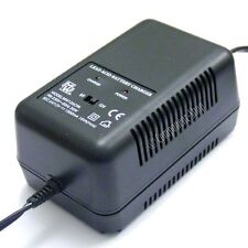 1500mA charger for 6V & 12V sealed lead-acid batteries