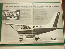 6/1966 PUB CESSNA AIRCRAFT AVION CESSNA SUPER SKYLANE FLUGZEUG ORIGINAL ADVERT
