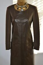 Rare ⭐️ Max Mara ⭐️ Leather Front Dress Size UK 8 - 10 EUR 36 38