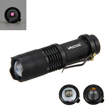 Mini OSRAM Infrared IR 850nm 5w Night Vision Zoom LED Flashlight Torch Lamp