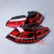 OEM Genuine LED Dark Red Taillights Tail Lamps Tail Light For VW Golf GTI R MK7
