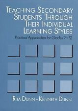 Teaching Secondary Students Through Their Individual Learning Styles: Practical