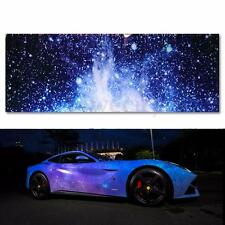 "20""x60"" Vinyl Galaxy Car Wrap Printed Graphic Film Sheet Sticker Decal Roll DIY"