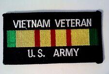 """Vietnam Veteran U.S. Army Patch 2"""" x 4"""""""