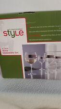 TY PENNINGTON STYLE WINE GLASSES SET OF 4