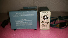 TEKTRONIX TYPE 134 CURRENT PROBE AMPLIFIER & TEKTRONIX 1107 DC INVERTER