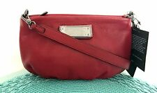 NWT AUTHENTIC MARC by Marc Jacobs New Q Percy Crossbody in Red Canyon Dust Bag