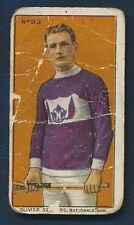 1910 C60 Imperial Tobacco Card #93 Oliver Secours Montreal
