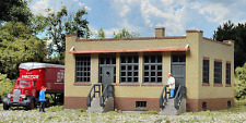 """N SCALE: """"INDUSTRIAL OFFICE"""" - Walthers Cornerstone Kit 933-3834"""