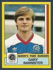 PANINI FOOTBALL 87-#259-QUEENS PARK RANGERS-SHEFFIELD W-COVENTRY-GARY BANNISTER