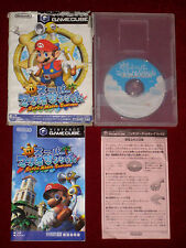 *Complete* Nintendo GameCube Game SUPER MARIO SUNSHINE NTSC-J Japan Import